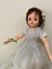 "Uneeda 2S Dark Hair Doll 19""- 20"""
