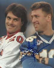 MATT DUNIGAN SIGNED 8X10 PHOTO EXACT PROOF COA AUTOGRAPHED BLUE BOMBERS CFL