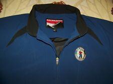 SUN MOUNTAIN 1/4 Zip Pullover Rain Golf Jacket Shirt US OPEN PINEHURST No 2 Sz L