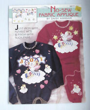 New listing Lot of 9 Daisy Kingdom Christmas Shirt Iron On Transfer and Screen Pattern