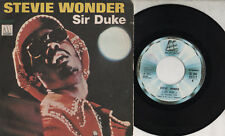 STEVIE WONDER disco 45 giri  SIR DUKE +  HE'S MISSTRA KNOW stampa ITALIANA 1976