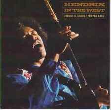 "JIMI HENDRIX Johnny B Goode & Purple Haze 7"" 45 record + juke box strip LIKE NEW"