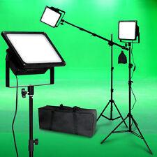 150W LED Photo Video Light Kit Boom Black Body Photographic Studio Lighting