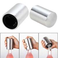 Stainless Steel Automatic Bottle Opener Glass Beer Soda Cap Wine Open Tool Sur