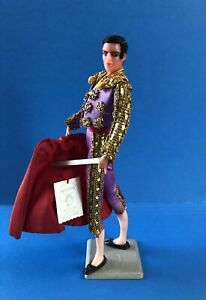 Vintage MARIN CHICLANA Of Spain Matador Bull Fighter Figurine Doll w Tag