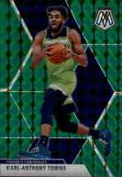 KARL-ANTHONY TOWNS 2019-20 Panini Mosaic Green #83 Timberwolves  ID:1699