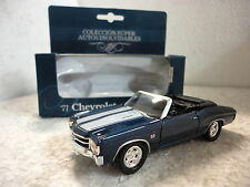 Super Autos Inolvidables,Chevrolet Chevelle SS 454,Escala 1:36:38,Ed.Sol 90
