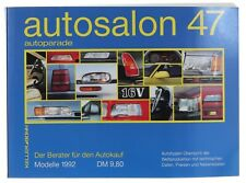 Autosalon 47 Autokatalog aus 1992 in Buchform - Sammlerstück
