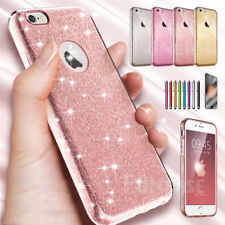 For iPhone SE 5 6 Plus Bling TPU Rugged Clear Plastic Slim Protective Case Cover