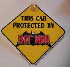Panneau Batman de signalisation pour voiture Batman protected car official sign