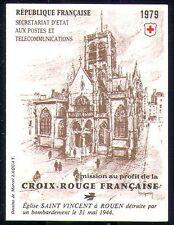 France 1979 Red Cross/Medical/Health 8v bklt (n29185)