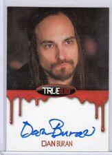 True Blood Dan Buran auto. card