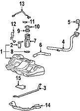 PONTIAC GM OEM Electric Fuel Pump 19180111    NIB