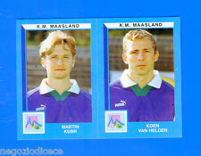 FOOTBALL 2000 BELGIO Panini-Figurina -Sticker n. 455 - K.M MAASLAND -New