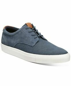 Bar III Men Casual Lace Up Sneakers Snyder Size US 13M Navy Blue Suede