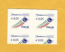 FRANCOBOLLO VARIETA' ITALIA REPUBBLICA POSTE ITALIANE CENTESIMI 5 ADESIVO 2010