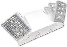 Ciata Lighting EMR-D-LED - White LED Emergency Light with Backup Battery, 2 Pack