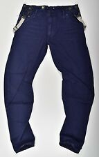 G-Star Raw, ARC 3d LOOSE TAPPERED Tirantes COJ , W34 L34, Bretón azul vaquero