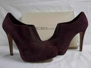 BCBGeneration BCBG Size 8.5 M Priyah Rosewood Leather Pumps New Womens Shoes