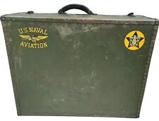 Wwii U.S. Navy Seapack by Hartmann Suitcase w/ Decals Naval Aviation Luggage