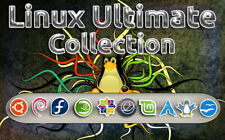 Linux Ultimate Collection 9 Full Operating Systems + OpenOffice