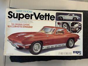 MPC '63 Corvette Stingray 1/16 Scale 1-3056.