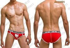 New Sexy Funny/Cute SANRIO HELLOKITTY Men Briefs/Boxers/Underwear RED Size M