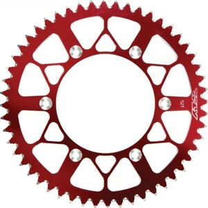 Fly Red 52T Aluminum Rear Sprocket for Honda 1988-18 CR CRF 250 450 225-52 RED