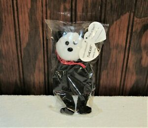 """TWILIGHT the VAMPIRE 5"""" TY 2010 HALLOWEEN BEANIE BABY SEALED in CELLOPHANE"""