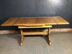 Ercol Draw Leaf Table No 153 Old Colonial Dining Table