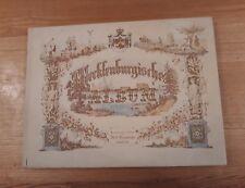 MECKLENBURGISCHES ALBUM STEEL PLATE ENGRAVINGS BERENDSOHN HAMBURG GERMANY