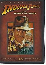 Indiana Jones & The Temple of Doom  DVD Harrison Ford, w/insert 2