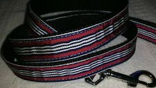 """MIRAGE Large LEAD 4Ft long x 1"""" WIDE TOP QUALITY. Ribbon backed red navy stripe"""