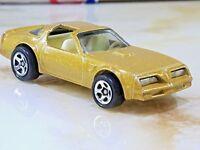 Vintage 1977 Hot Wheels Pontiac Firebird Trans Am GOLD T Tops 1/64 Scale