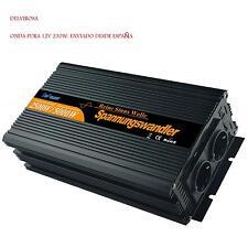 INVERSOR ONDA PURA 2500W 12V 230V , INVERTER SINE PURE 2500W 12V 230V