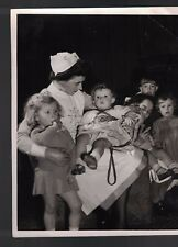 Canadian Military Photograph 1940s Daughters of Canadian Soldier heading home