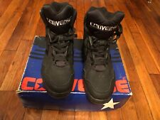 ALL Black Converse High Tops Size 11