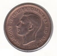 CB1436) Australia 1948 Melbourne Penny. Choice uncirculated fully lustred coin.