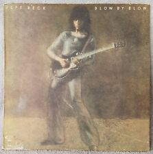 "JEFF BECK 1975 Blow By Blow (AL 33409) 12"" Vinyl 33 LP Epic PROG ROCK AIR Blower"