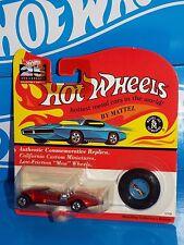 Hot Wheels 1993 25th Anniversary Replica Series Twin Mill Mtflk Red