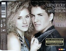 Alexander (Klaws) feat. Sabrina Weckerlin: all (I Ever Want) - tutto/CD