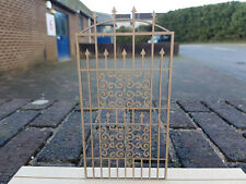 12th Scale Wrought Iron Effect Gate - (Design 6)
