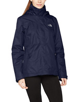 RRP £99 THE NORTH FACE LOWLAND JACKET COAT Navy Blue Waterproof S / 8-10 - NEW