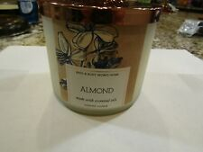 Almond  3 Wick Candle Made with Essential Oils - Bath & Body Works