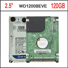 WD1200BEVE 2.5inch 120GB IDE/PATA 5400RPM 8MB HDD Hard Disk Driver For Laptop