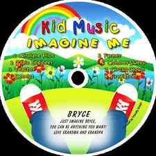 ~eBay~Imagine Me Personalized Kids Music CD