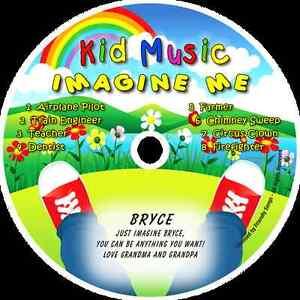 ~eBay~Imagine Me Personalized Kids Music CD