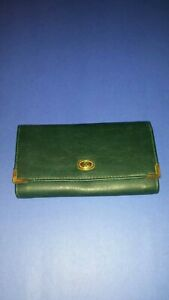 Womans Wallet Maggie Lawrence Green NWOT