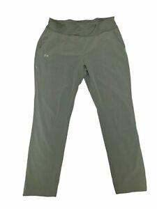 Under Armour Ramble Pants Womens Size XL Olive Tint 1318745