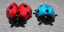 Ladybird Ladybug Lady Bug Decorative Ornaments Animal Garden Figurine (set of 2)